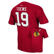 Reebok Chicago Blackhawks Jonathan Toews Player Tee - Men