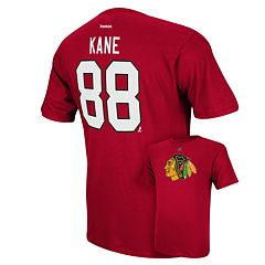 Men's Reebok Chicago Blackhawks Patrick Kane Player Tee