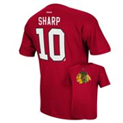 Reebok Chicago Blackhawks Patrick Sharp Player Tee - Men