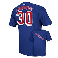 Reebok New York Rangers Henrik Lundqvist Player Tee - Men