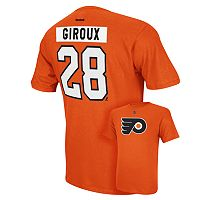 Men's Reebok Philadelphia Flyers Claude Giroux Player Tee