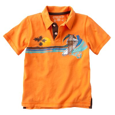 SONOMA life + style Surfs Up Polo - Boys 4-7x