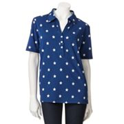 Cathy Daniels Star Polo