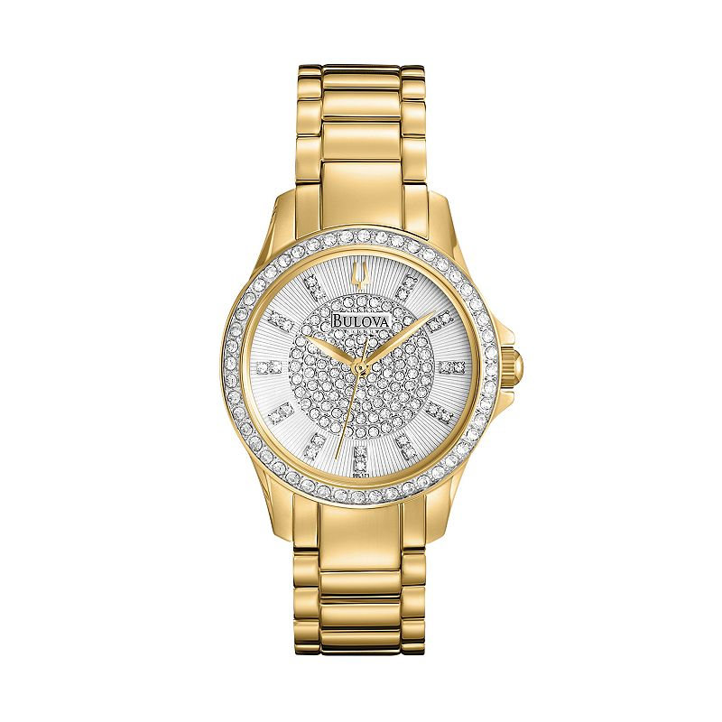 Bulova bulova watch women 39 s stainless steel 98l171 questions answers how to for Watches kohls