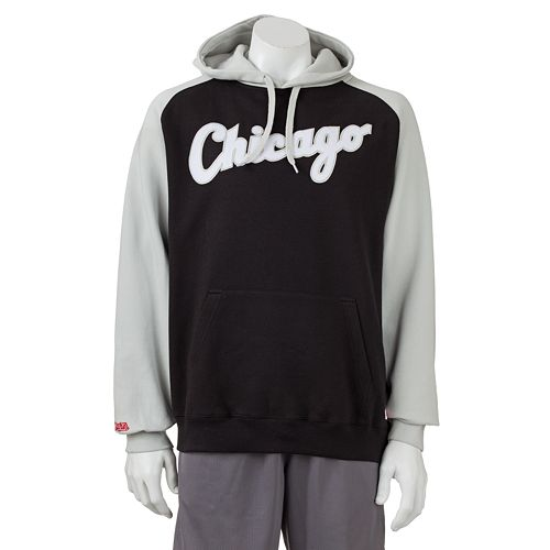 Stitches Chicago White Sox Colorblock Fleece Hoodie - Men
