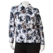 Cathy Daniels Floral Jacket - Women's Plus