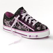 Skechers Bella Ballerina Auditions Twirl N' Swirl Shoes - Girls