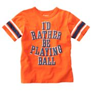 OshKosh B'gosh I'd Rather Be Playing Ball Tee - Boys 4-7x