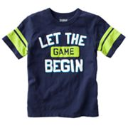 OshKosh B'gosh Let the Game Begin Tee - Boys 4-7x