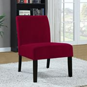 Monarch Crocodile Velvet Accent Chair