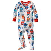 Carter's Monster Skateboarder Footed Pajamas - Baby