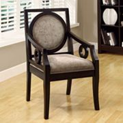 Monarch Velvet Accent Chair