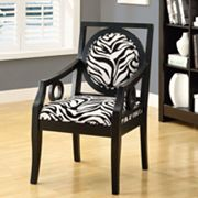 Monarch Zebra Accent Chair