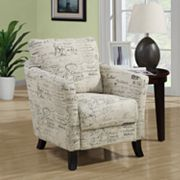 Monarch Vintage French Accent Chair