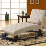 Monarch Velvet Chaise Lounger