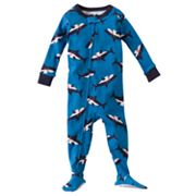 Carter's Shark Footed Pajamas - Baby