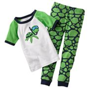 Carter's Turtle Pajama Set - Baby