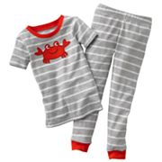 Carter's Striped Crab Pajama Set - Baby