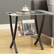 Monarch Bentwood Magazine Table