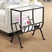 Monarch Stardust Magazine End Table