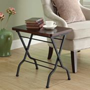 Monarch Folding Accent Table