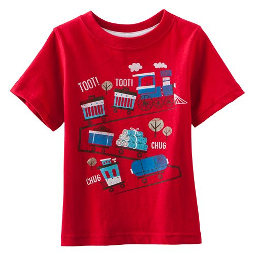 Jumping Beans® Train Tee - Baby