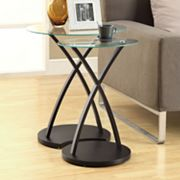 Monarch 2-pc. Bentwood Nesting Table Set