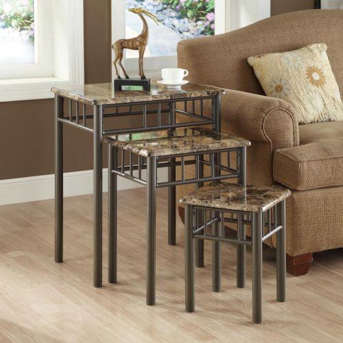 Monarch 3-pc. Nesting Table Set