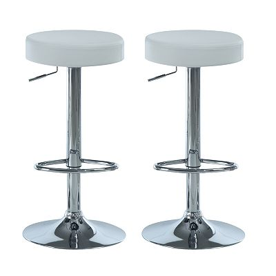 Monarch 2-pc. Circle Seat Stool Set
