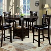 Monarch 2-pc. Window Back Pub Chair Set