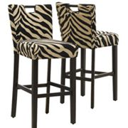 Monarch 2-pc. Tiger Bar Stool Set