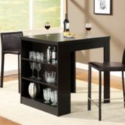 Monarch Hollow-Core Counter-Height Table