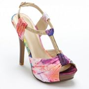 Apt. 9 Peep-Toe Platform Dress Sandals - Women