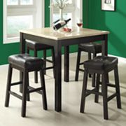 Monarch 5-pc. Counter Dining Set