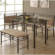 Monarch 3-pc. Corner Dining Set