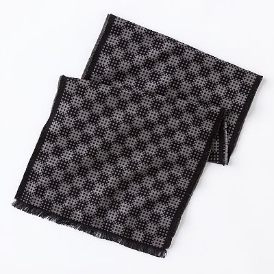 Arrow Bubble Grid Scarf