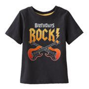 Jumping Beans Birthdays Rock Tee - Baby