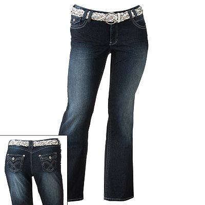 Angels Bootcut Jeans - Juniors' Plus
