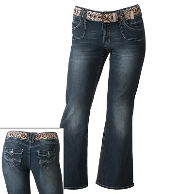 Angels Flare Jeans - Juniors' Plus