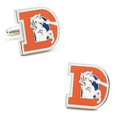 Denver Broncos Retro Logo Cuff Links