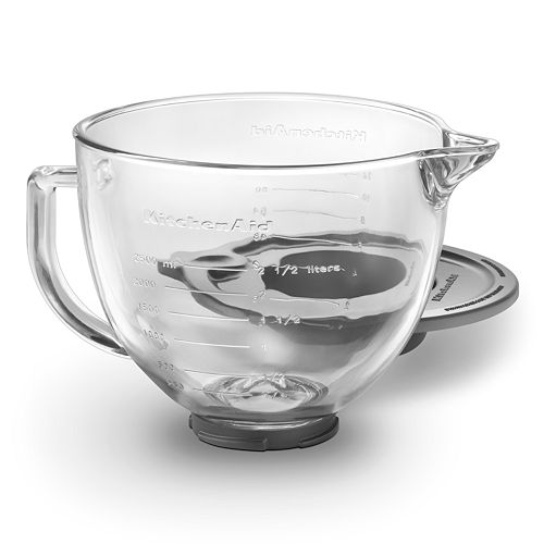 KitchenAid K5GB 5-qt. Glass Mixing Bowl For 5-qt. Tilt-Head Stand Mixers