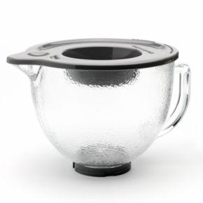 KitchenAid K5GBH 5-qt. Hammered Glass Mixing Bowl