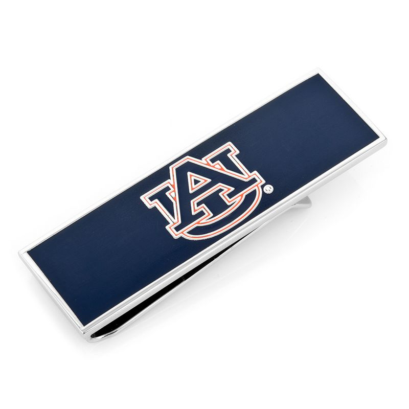 Men's Cufflinks Inc Auburn University Tigers Money Clip Navy/Orange 93474271