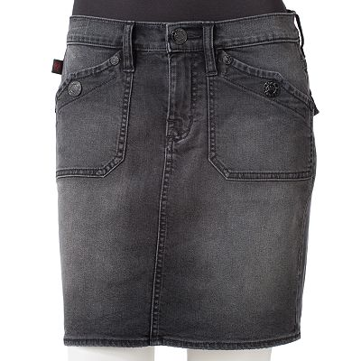 Rock and Republic Denim Pencil Skirt