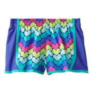 Jumping Beans Heart Colorblock Shorts - Girls 4-7