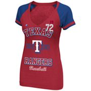 Majestic Texas Rangers This Is My City Tee - Women