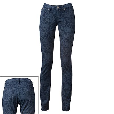 Rock and Republic Berlin Floral Skinny Jeans