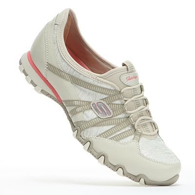 Skechers Bikers Sparkling Slip-On Shoes - Women