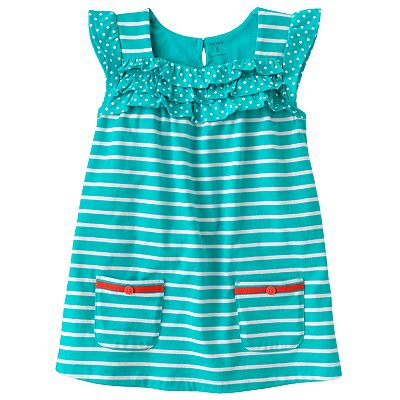 Carter's Striped Tunic - Girls 4-6x