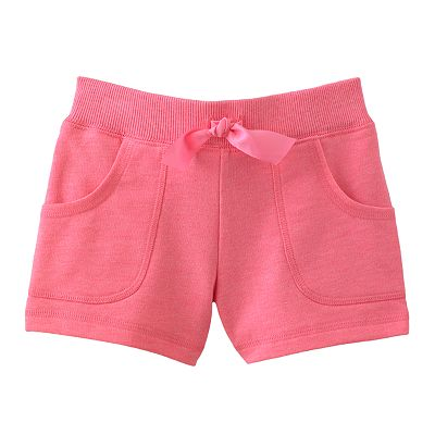 Carter's Solid French Terry Shorts - Girls 4-6x
